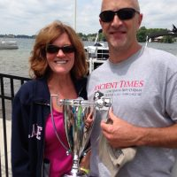 1st Place, 16-ft--Brian & Elise Fish