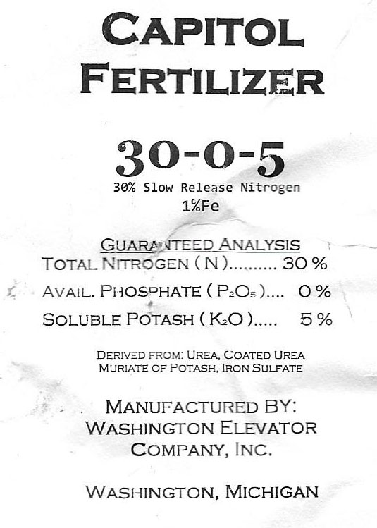 fertilizer content ps