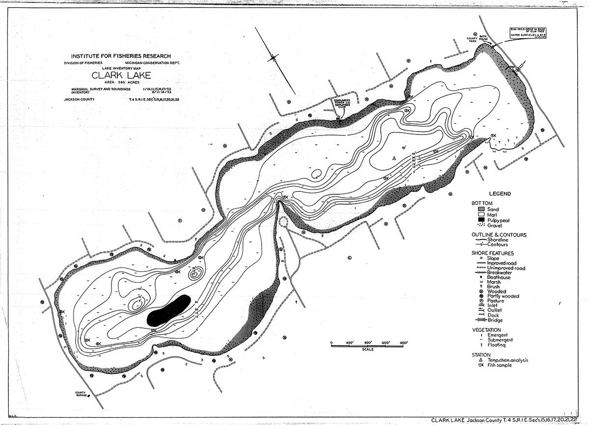 Map Clark Lake Spirit Foundation