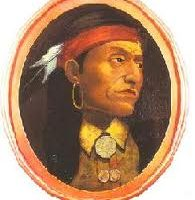 An artist's guess as to the appearance of Chief Pontiac