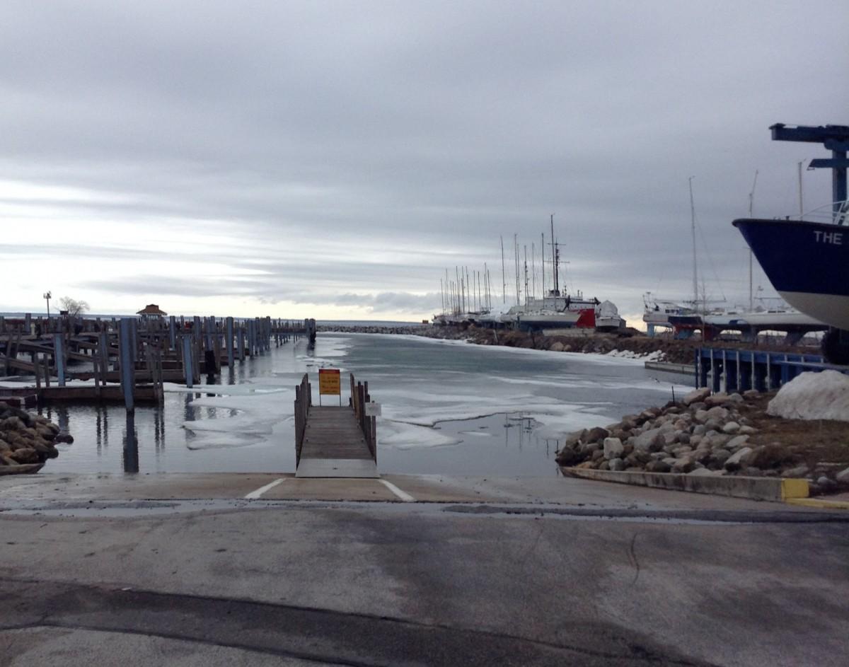 Mackinaw City dock
