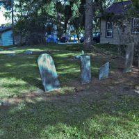 The Stranahan family plot in the Clark Lake cemetery