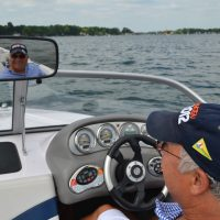 Thanks to Roger Lyons who expertly drove his Nautique for the photographer