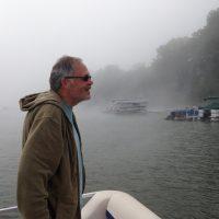 Counting crew member Steve Wawro