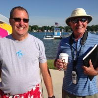 Bill Locke and Neil Robb from the CLYC
