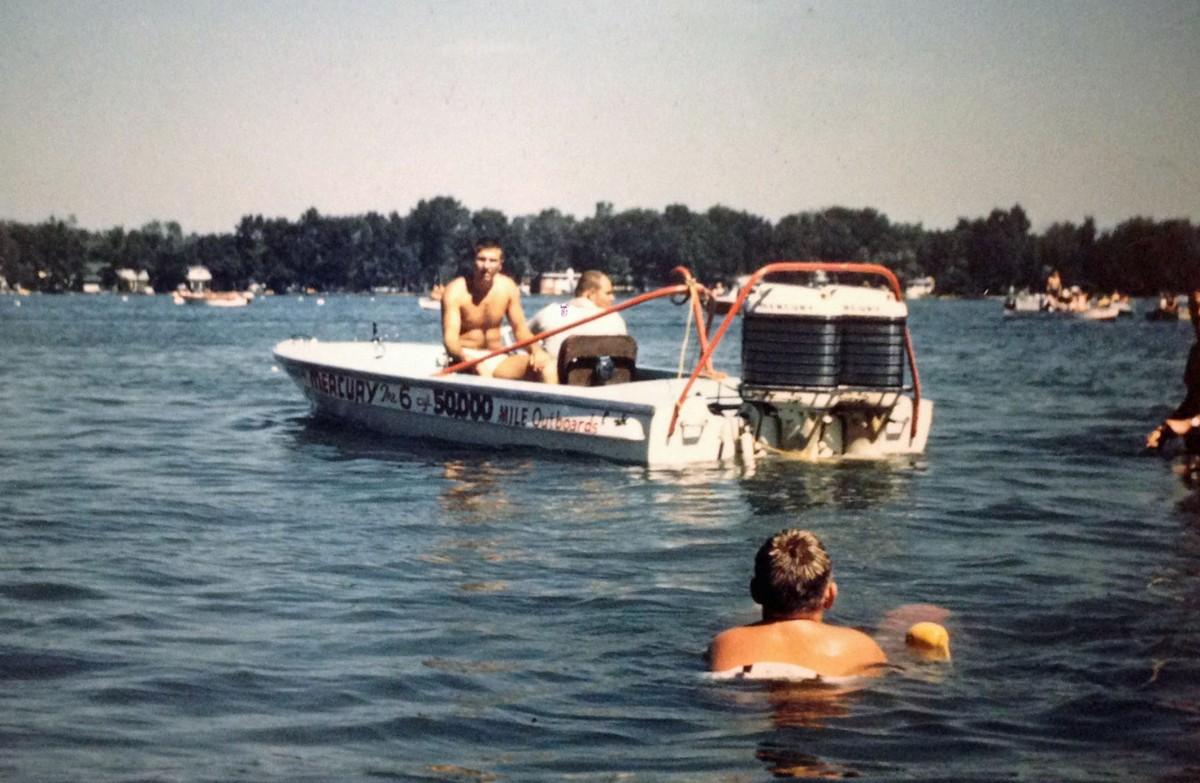 twin merc towboat