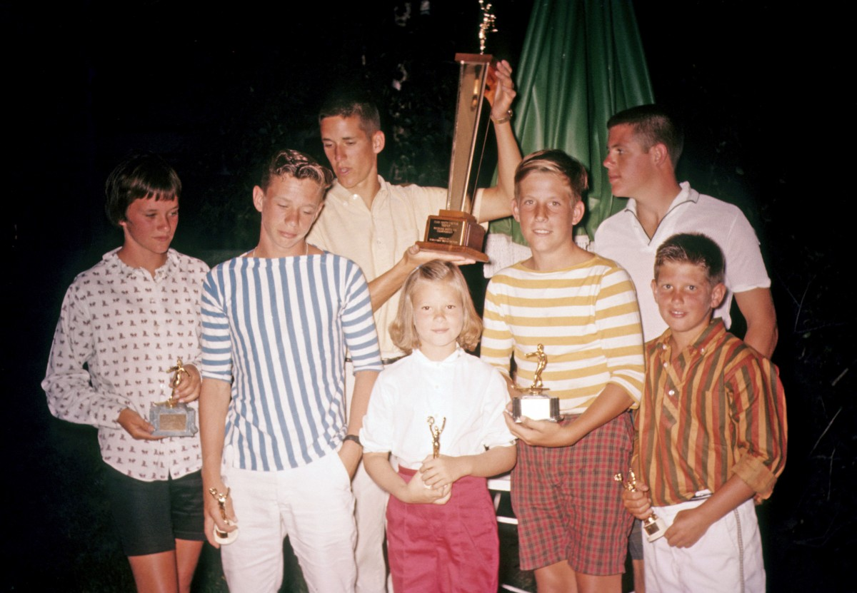 Pine Riders winners 1961