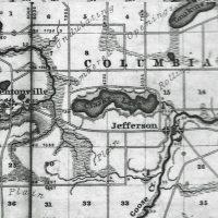 Early Clark Lake map