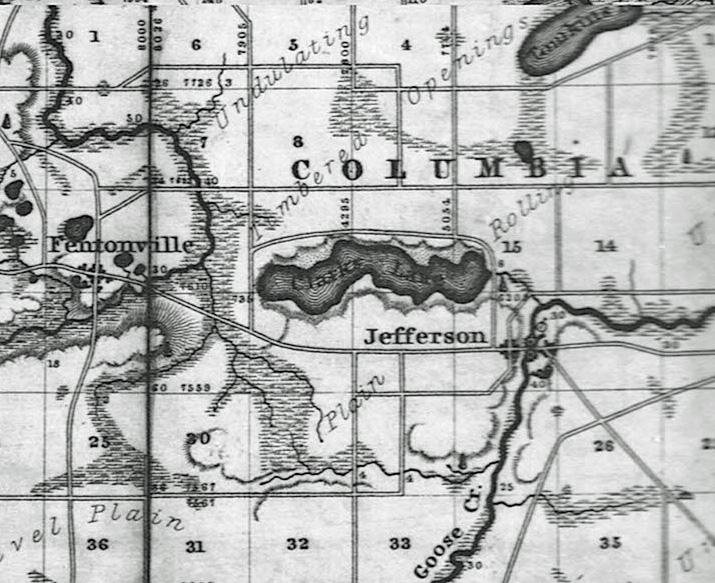 Clark Lake Michigan Map.Map Clark Lake Spirit Foundation