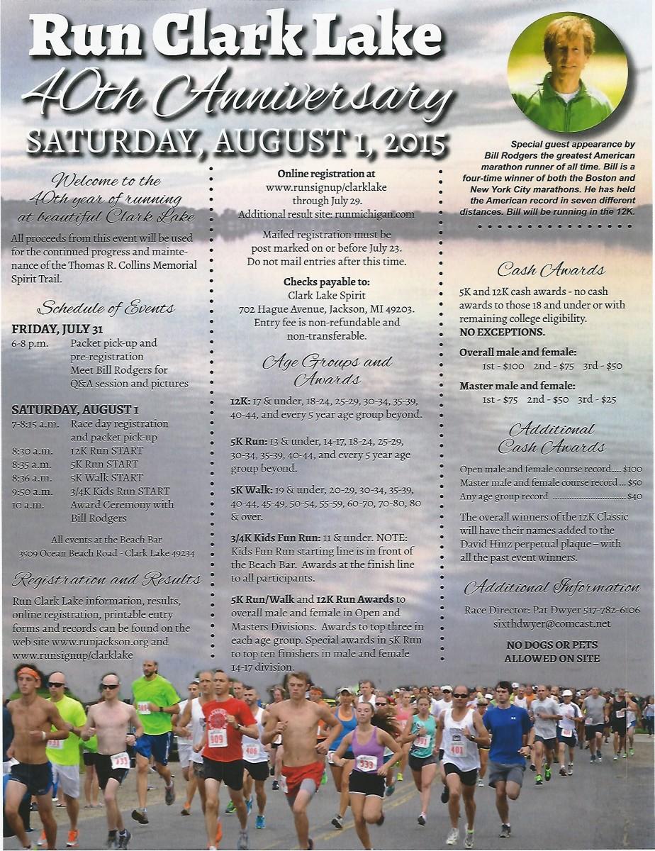 Run Clark Lake 2015