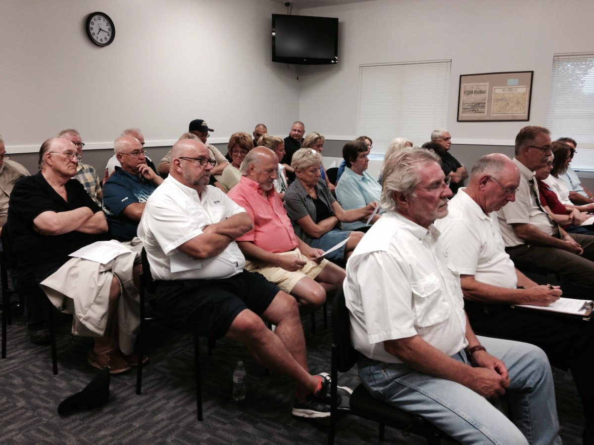 Audience at tonight's meeting