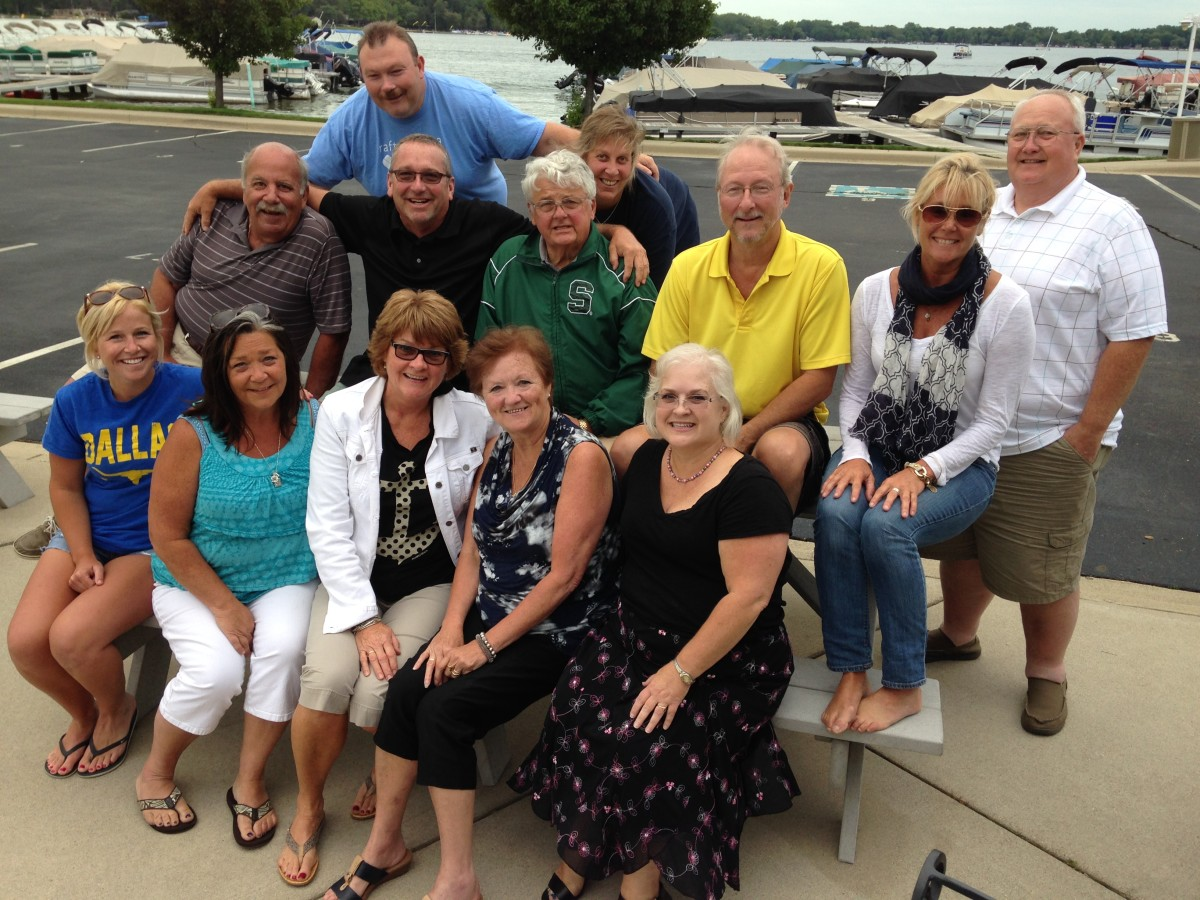 Raft-O-Rama committee July 16, 2015 at Eagle Point