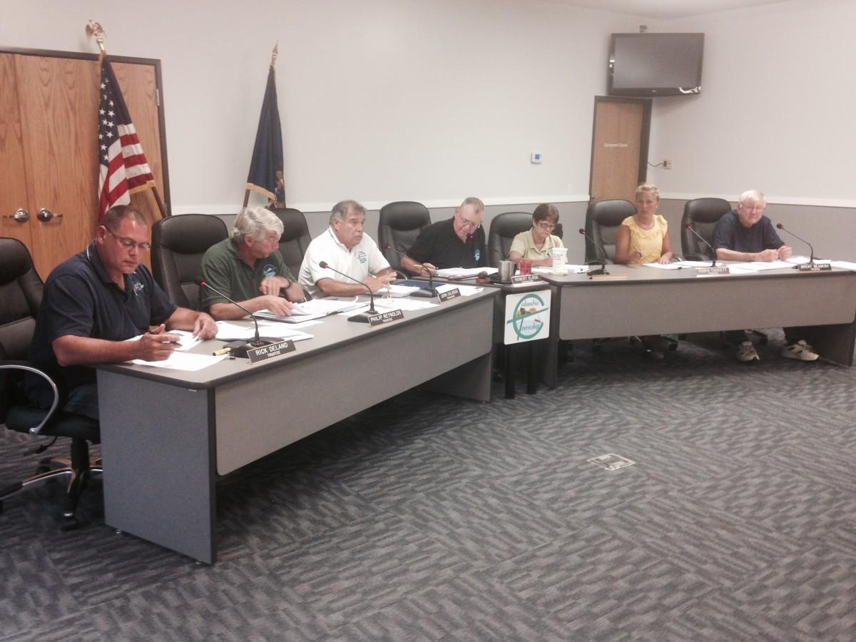 Township board 2015 07-20