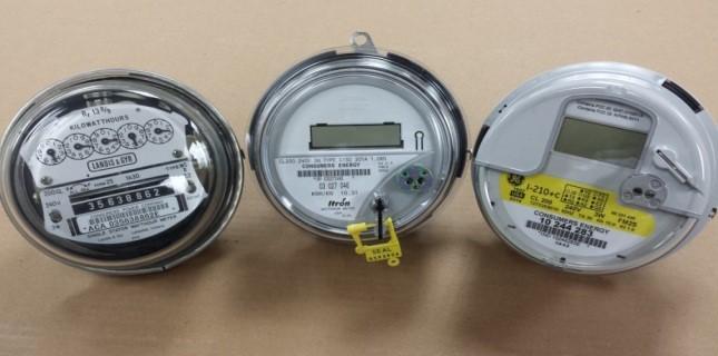 New Digital Electric Meter : New electric meters at clark lake