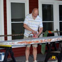 Bill Leutz  paddleboard
