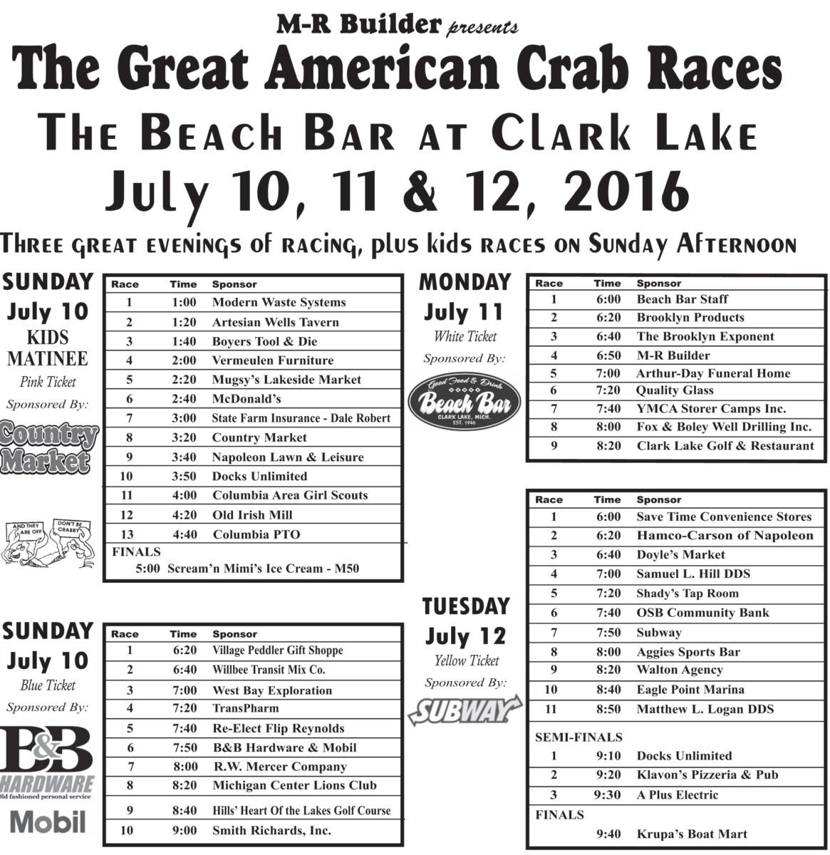 crab race - 2016_crab race - 2005.qxd