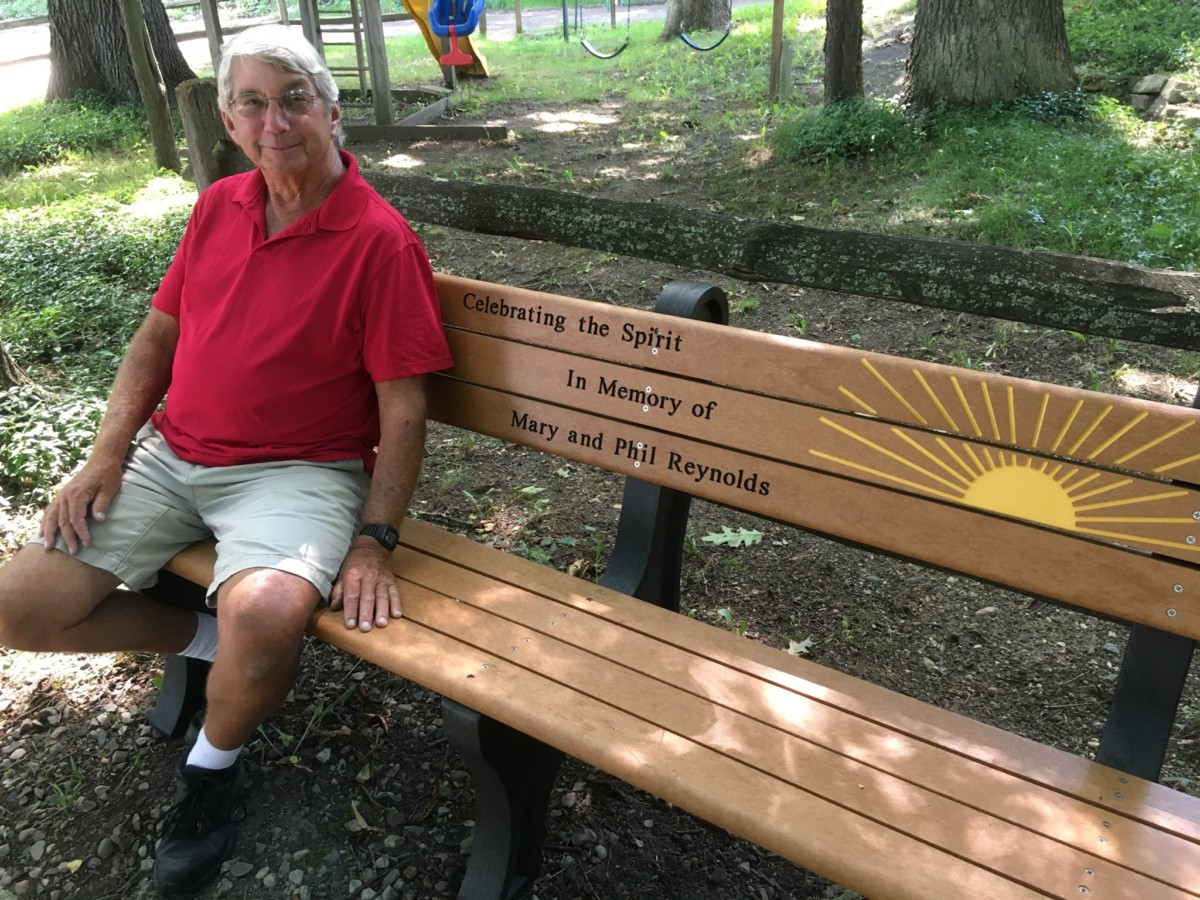 Spirit Trail bench